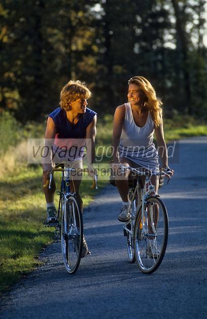 Europe/France/Limousin/87/Haute Vienne: Randonnée à bicyclette