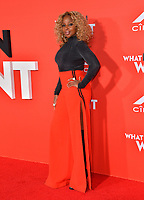 LOS ANGELES, CA. January 28, 2019: Mary J. Blige at the US premiere of &quot;What Men Want!&quot; at the Regency Village Theatre, Westwood.<br /> Picture: Paul Smith/Featureflash