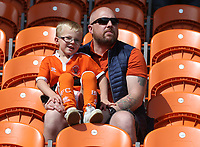 Photographer Stephen White/CameraSport<br /> <br /> The EFL Sky Bet League One - Blackpool v Fleetwood Town - Monday 22nd April 2019 - Bloomfield Road - Blackpool<br /> <br /> World Copyright © 2019 CameraSport. All rights reserved. 43 Linden Ave. Countesthorpe. Leicester. England. LE8 5PG - Tel: +44 (0) 116 277 4147 - admin@camerasport.com - www.camerasport.com