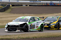 #11 Rob Austin Duo Motorsport with HMS Alfa Romeo Giulietta during BTCC Race 2  as part of the Dunlop MSA British Touring Car Championship - Rockingham 2018 at Rockingham, Corby, Northamptonshire, United Kingdom. August 12 2018. World Copyright Peter Taylor/PSP. Copy of publication required for printed pictures.