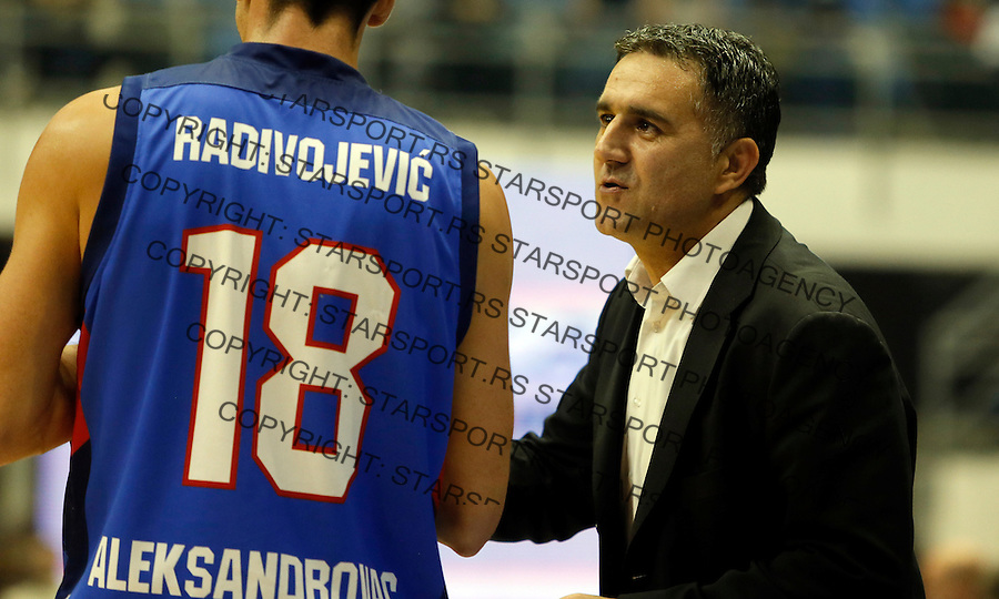 Dragan Bajic Vuk Radivojevic Aba regionalna liga Partizan - Igokea 27.12.1015. December 27. 2015. (credit image & photo: Pedja Milosavljevic / STARSPORT)