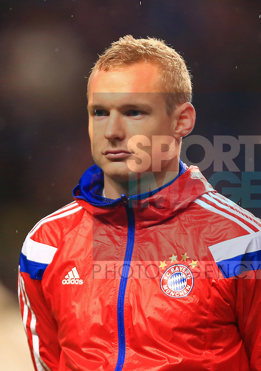 Sebastian Rode of Munich - Manchester City vs. Bayern Munich - UEFA Champion's League - Etihad Stadium - Manchester - 25/11/2014 Pic Philip Oldham/Sportimage