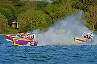 "Mike Buturla, JS-712 , JS-3 ""Making Memories""  and Dave Greenlaw, Jr., JS-99 ""Veri Cheri Too""  (1 Litre MOD hydroplane(s)"