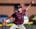 Belleville West pitcher Joey Kossina winds up. Belleville East defeated Belleville West 1-0 in a Class 3A Baseball Regional playoff game on Wednesday May 23, 2018. Tim Vizer | Special to STLhighschoolsports.com