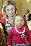 Naoise and Jenny Magee at the Coffee Morning in the Glenside in aid of Jack and Jill Foundation and S.O.F.T Ireland...Photo NEWSFILE/Jenny Matthews.(Photo credit should read Jenny Matthews/NEWSFILE)....This Picture has been sent you under the condtions enclosed by:.Newsfile Ltd..The Studio,.Millmount Abbey,.Drogheda,.Co Meath..Ireland..Tel: +353(0)41-9871240.Fax: +353(0)41-9871260.GSM: +353(0)86-2500958.email: pictures@newsfile.ie.www.newsfile.ie.FTP: 193.120.102.198.