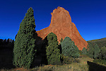 Strange rock forms at Garden of the Gods State Park, Colorado Springs, Colorado, USA