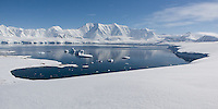 View from Damoy Point area, Antarctic Peninsula, November 2007