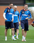 Danny Wilson and Andy Halliday