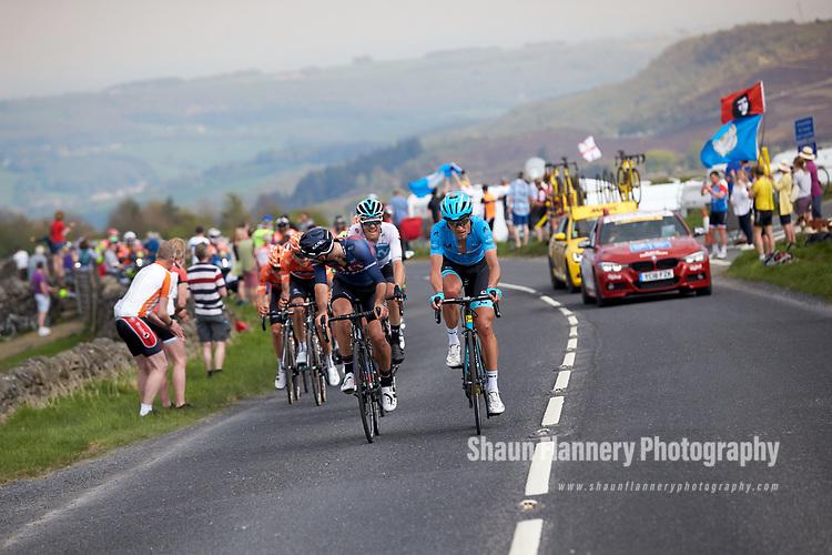 Picture by Shaun Flannery/SWpix.com - 06/05/2018 - Cycling - 2018 Tour de Yorkshire - Stage 4: Halifax - Leeds - Yorkshire, England<br /> <br /> Magnus Court Neilsen, Astana Pro Team, Cote de Greenhow