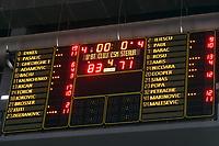 tabela de scor la finalul meciului