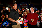 "December 19, 2009: Arnold Schwarzenegger at the Hollenbeck Youth Center's 28th annual ""Miracle on 1st Street"" in conjunction with the LA Inner-City Games and Oscar de la Hoya Foundation in Los Angeles, California. Credit: Nina Prommer/Milestone Photo"