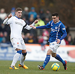 Kyle Hutton and Dean Cowie