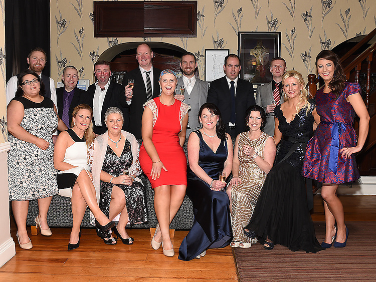 Mná committee members with husbands pictured at the Valentine Ball in the Grove House Dunleer. Photo:Colin Bell/pressphotos.ie