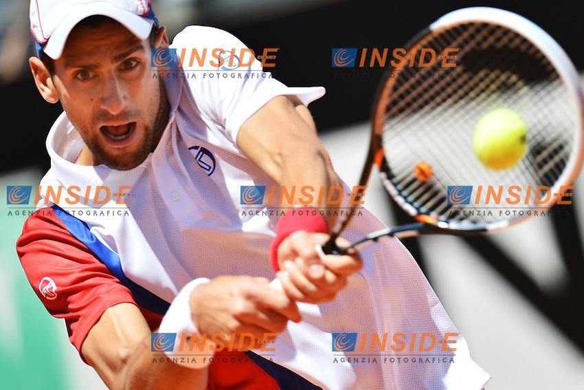 Novak Djokovic of Serbia.Roma 17/05/2012 Foro Italico.Tennis Internazionali d'Italia.Foto Insidefoto Andrea Staccioli