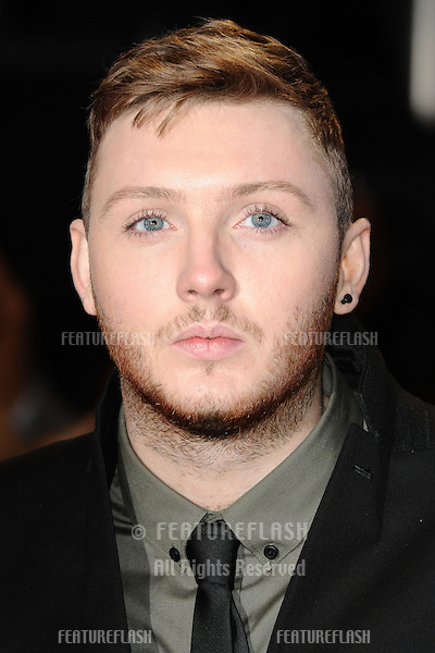 """James Arthur arriving for the """"The Twilight Saga: Breaking Dawn Part 2"""" premiere at the Odeon Leicester Square, London. 14/11/2012 Picture by: Steve Vas / Featureflash"""