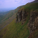 AWY7B7 High Cup Nick northern Pennines Cumbria England