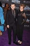 HOLLYWOOD, CA - JANUARY 29: Actor Andy Serkis, Lorraine Ashbourne attends the premiere of Disney and Marvel's 'Black Panther' at  the Dolby Theater on January 28, 2018 in Hollywood, California.