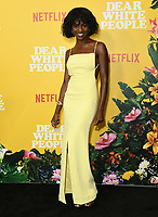 "01 August 2019 - Los Angeles, California - Samantha Ware. Netflix's ""Dear White People"" Season 3 Los Angeles Premiere held at TRegal Cinemas LA Live. Photo Credit: Birdie Thompson/AdMedia"