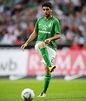 FUSSBALL   1. BUNDESLIGA   SAISON 2011/2012   TESTSPIEL SV Werder Bremen - FC Everton                 02.08.2011 Mehmet EKICI (SV Werder Bremen) Einzelaktion am Ball