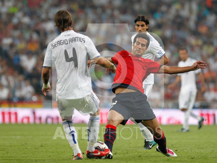 Madrid (11/09/10).- Estadio Santiago Bernabeu..Campeonato Nacional de Liga 2ª Jornada..Real Madrid 1- Osasuna 0.Masoud...© Alex Cid-Fuentes/ALFAQUI