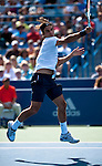 Roger Federer of Switzerland at the Western & Southern Open in Mason, OH on August 18, 2012.
