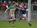 St Marys Daire McConnon St Josephs Ben Mulligan. Photo:Colin Bell/pressphotos.ie