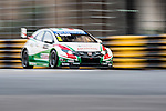 Gabriele Tarquini races the FIA WTCC during the 61st Macau Grand Prix on November 14, 2014 at Macau street circuit in Macau, China. Photo by Aitor Alcalde / Power Sport Images