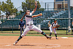 DENTON, May 5 2018 - Game one of North Texas Softball v. Universtiy of Alabama at Birmingham Softball at Lovelace Stadium in Denton, Texas. (Rick Yeatts Photography/Colin Mitchell)