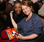 Noma Dumezweni and Poppy Miller attend Broadway's 'Boys in the Band' hosted Midnight Performance of 'Three Tall Women' to Honor Director Joe Mantello at the Golden Theatre on May 17, 2018 in New York City.