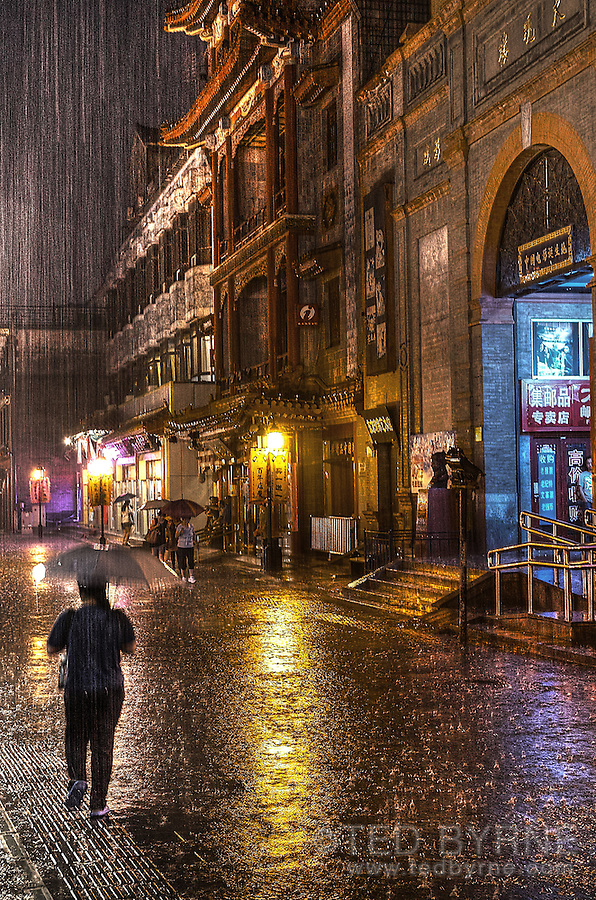 Rainy Night in Beijing