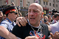 Moscow Gay Parade Attacked
