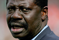31st March 2020, France; It has been announced that Pape Diouf, ex-President of League 1 football club in France has died from Covid-19 Coroma Virus.   Pape Diouf - Valenciennes/ OM Marseille - 15.08.2007