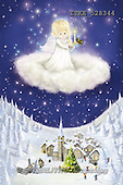 Isabella, CHRISTMAS CHILDREN,ANGEL; paintings+++++,ITKE528344,#XK#