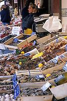 Europe/France/Normandie/Basse-Normandie/14/Calvados/Trouville: Le marché aux poissons
