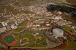 Aerial view of Ohio University. ©Ohio University