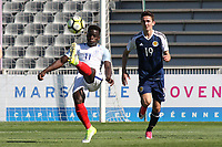 Ronaldo Vieira of England in action during England Under-18 vs Scotland Under-20, Toulon Tournament Semi-Final Football at Stade Parsemain on 8th June 2017