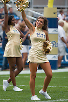 Members of the Pitt dance team perform before the game.The Pitt Panthers football team defeated the Youngstown State Penguins 45-37 on Saturday, September 5, 2015 at Heinz Field, Pittsburgh, Pennsylvania.