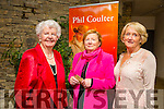 Enjoying the Phil Coulter concert on Sunday night were l-r  Celine Slattery, Tralee, Hazel Costello, Tralee and Marian Dillon, Tralee