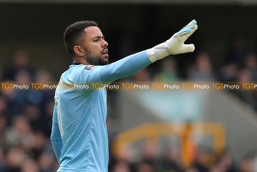 Jordan Archer of Millwall during Millwall vs Watford, Emirates FA Cup Football at The Den on 29th January 2017