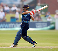 Heino Kuhn bats for Kent during the Royal London One Day Cup game between Kent and Glamorgan at the St Lawrence Ground, Canterbury, on May 25, 2018