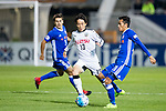 Koji Miyoshi of Kawasaki Frontale (JPN) battles for the ball with Tsang Kam To of Eastern SC (HKG) during the AFC Champions League 2017 Group G match between Eastern SC (HKG) and Kawasaki Frontale (JPN) at the Mongkok Stadium on 01 March 2017 in Hong Kong, China. Photo by Chris Wong / Power Sport Images