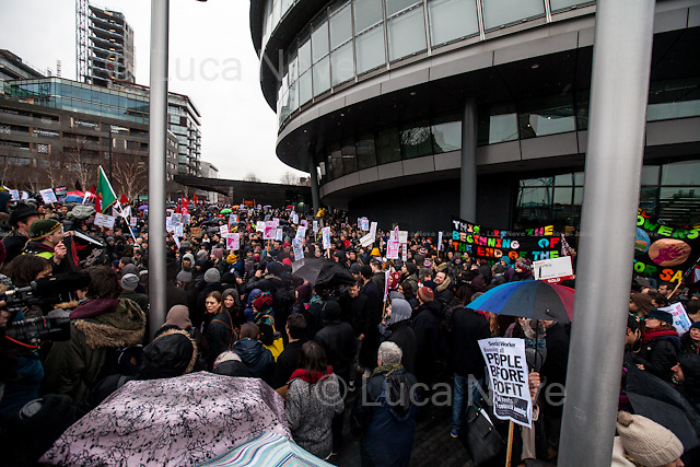 London, 31/01/2015. Today, thousands of housing activists, trade unionists, campaigners and members of the public marched on City Hall (coming from Shoreditch and Elephant &amp; Castle) demanding to the London Mayor Boris Johnson better and affordable housing for London. From the organisers press release: &lt;&lt;[&hellip;] We demand to solve the Housing Crisis: - Rent Controls; -Hands off council housing; - Stop demolition of quality council homes; - Affordable and secure homes for all; - Cut rents not Benefits; - End Bedroom Tax and welfare caps; - Build new council houses [&hellip;]&gt;&gt;.<br /> <br /> For more information please click here: http://marchforhomes.org/