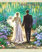 Dona Gelsinger, BABIES, BÉBÉS, wedding, Hochzeit, boda, paintings+++++,USGE1406A,#B#,#W# ,everyday
