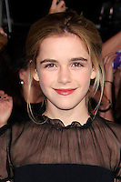 LOS ANGELES, CA - NOVEMBER 12: Kiernan Shipka at the premiere of 'The Twilight Saga: Breaking Dawn - Part 2' at Nokia Theater L.A. Live on November 12, 2012 in Los Angeles, California.  Credit: MediaPunch Inc. /NortePhoto