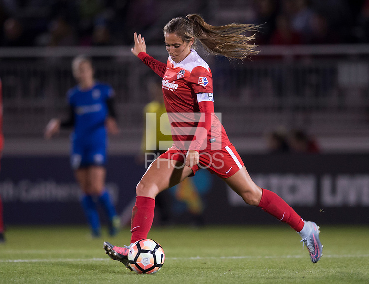 Boyds, MD - Saturday September 30, 2017: Shelina Zadorsky during a regular season National Women's Soccer League (NWSL) match between the Washington Spirit and the Seattle Reign FC at Maureen Hendricks Field, Maryland SoccerPlex.