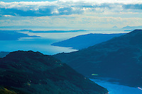 Loch Goil, the Firth of Clyde, Cumbrae and Ailsa Craig from Ben Donich, the Arrochar Alps, Loch Lomond and the Trossachs National Park, Argyll & Bute