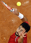 Tenis, Davis Cup, .Serbia Vs. Australia, man's double.Nenad Zimonjic.Novak Djokovic and Nenad Zimonjic Vs. Lleyton Hewitt and Paun Hanley.Belgrade, 22.09.2007..foto; Srdjan Stevnovic
