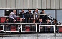 The Wycombe Chairman & directors during the Sky Bet League 2 match between Leyton Orient and Wycombe Wanderers at the Matchroom Stadium, London, England on 1 April 2017. Photo by Andy Rowland.
