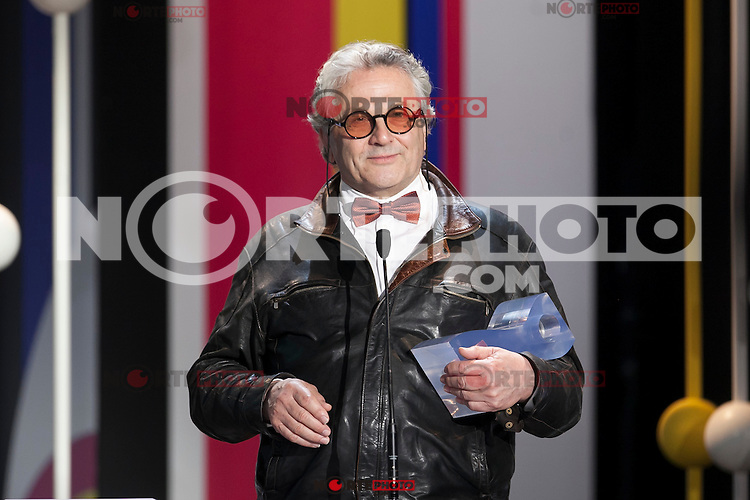 George Miller receives the Donostia Best Film award during the 63rd Donostia Zinemaldia opening ceremony (San Sebastian International Film Festival) in San Sebastian, Spain. September 18, 2015. (ALTERPHOTOS/Victor Blanco) /NortePhoto.com