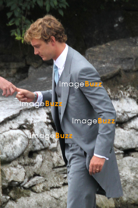 Arrival of the guests marriages of Pierre Casiraghi and B&eacute;atrice Borromeo<br /> <br /> Pierre Casiraghi